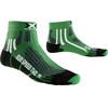 X-Socks Run Speed Two Short Löparstrumpor grön